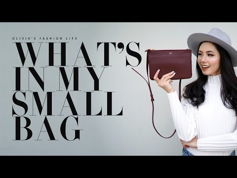 OLIVIA'S STORY: WHAT'S IN MY SMALL BAG