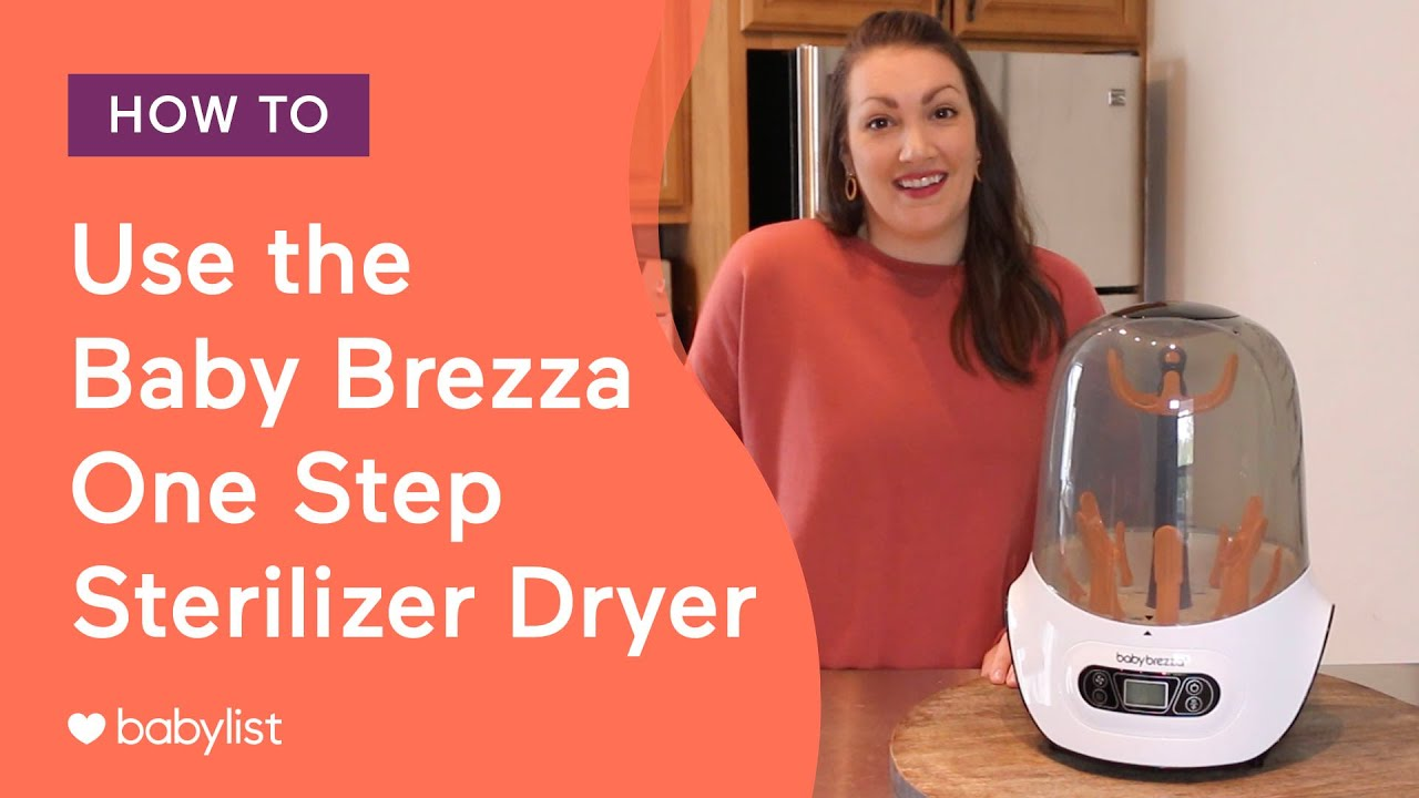 babybrezza One-Step Bottle Sterilizer and Dryer
