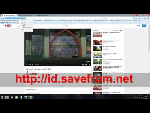 Tutorial Download Video Youtube