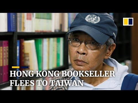 Bookseller Lam Wing-kee leaves Hong Kong for Taiwan over extradition fears