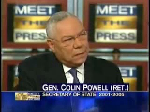 Obama a Muslim??? Answer from Colin Powell that Obama never said!