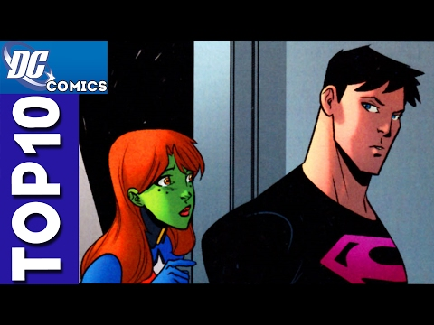 Top 10 Affairs From Young Justice