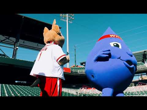 Willie and Chico investigate leaks at Southwest University Park - Fix A Leak Week 2018