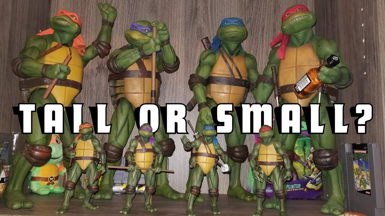 Big Or Small Neca 1990s Teenage Mutant Ninja Turtles Gamestop