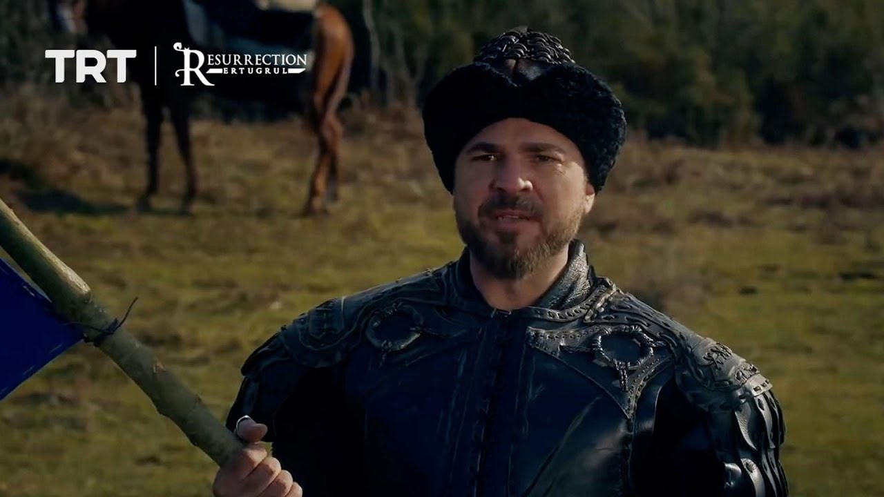 Ertugrul plants a tree to mark the Kayi tribe's new home