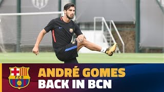 Ter Stegen and André Gomes returned to training