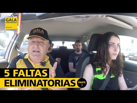 5 Faltas Eliminatorias En El Examen De Conducir (parte 1)