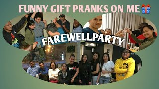 Funny gifts pranks on me🎁🎁🎁😱😱😱