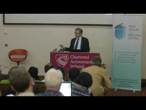 Prof Dieter Helm seminar on 'The Natural Capital Approach' in Dublin