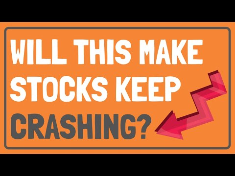Why is the Stock Market DOWN Today?   THIS Could KEEP Making Stocks CRASH!   Stock Market Down Why?