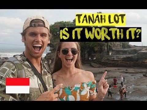 FAMOUS TANAH LOT SEA TEMPLE | BALI VLOG
