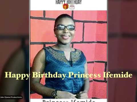Segun MrMusic 'HAPPY BIRTHDAY' Princess Ifemide