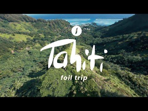 Takuma Team Smash it in Tahiti - Breaking the Foiling Boundaries