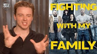 Jack Lowden on WWE Superstar Paige's big screen story in Fighting with My Family