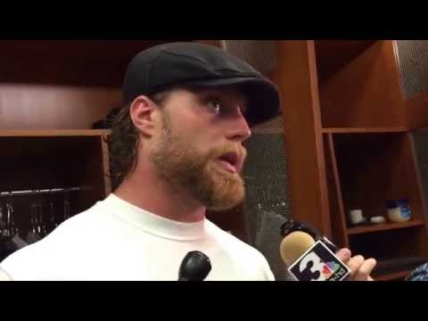 Paul Kruger after Browns' victory over Steelers