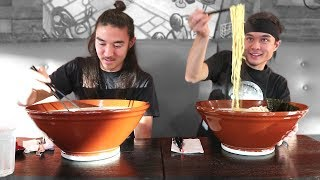 vermillionvocalists.com - GIANT Ramen Challenge (vs Morgan) (3,000,000 Sub Video!)