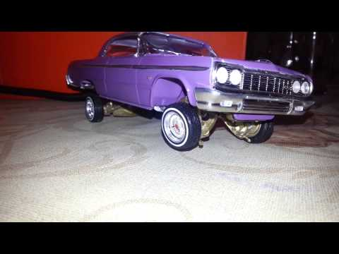 1964 Chevrolet Impala SS Lowrider Model Car Part 4 (COMPLETE) LAVitate