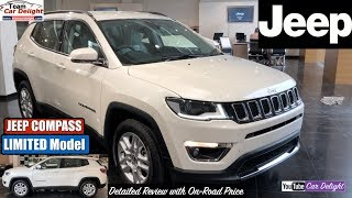 Jeep Compass Limited Model Detailed Review with On Road Price | Jeep Compass Top Model