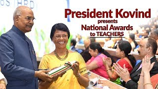 President Kovind presents National Awards to teachers on the occasion of Teachers' Day