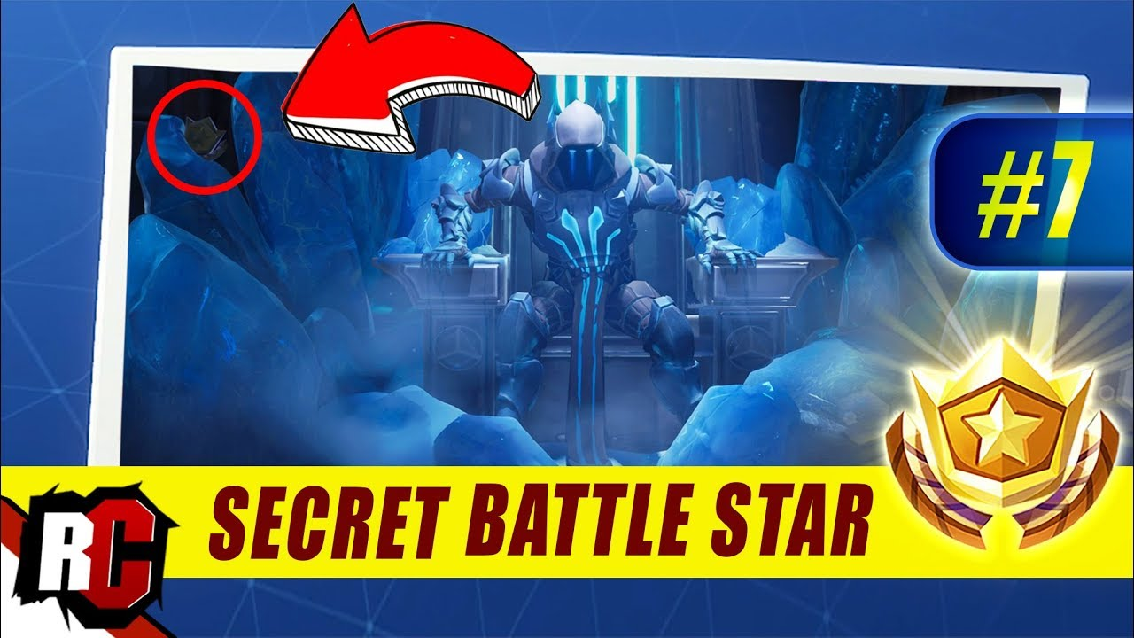 How To Unlock Fortnite Week 7 Skin Fortnite Week 7 Secret Battle Star Location Season 7 Week 7 Loading Screen Snowfall Skin Youtube