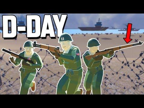 NEW M1 Garand RIFLE, OMAHA BEACH Invasion & More (Ravenfield Gameplay New Mods, Maps and Update)