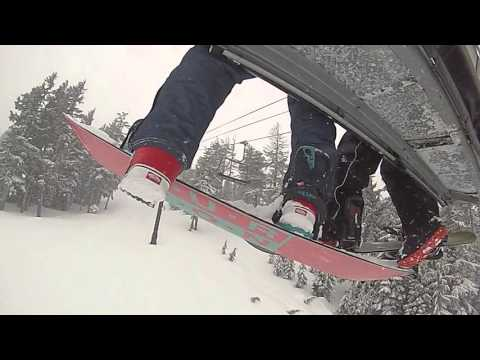 Snowboarding - Mt. Bachelor Trip - Day 1 (extended cut)