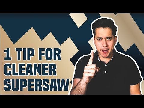 1 Powerful Tip For Cleaner Supersaws