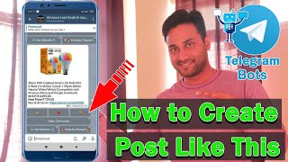 How to add Comment, Reaction & External link Button in Telegram Channel Posts