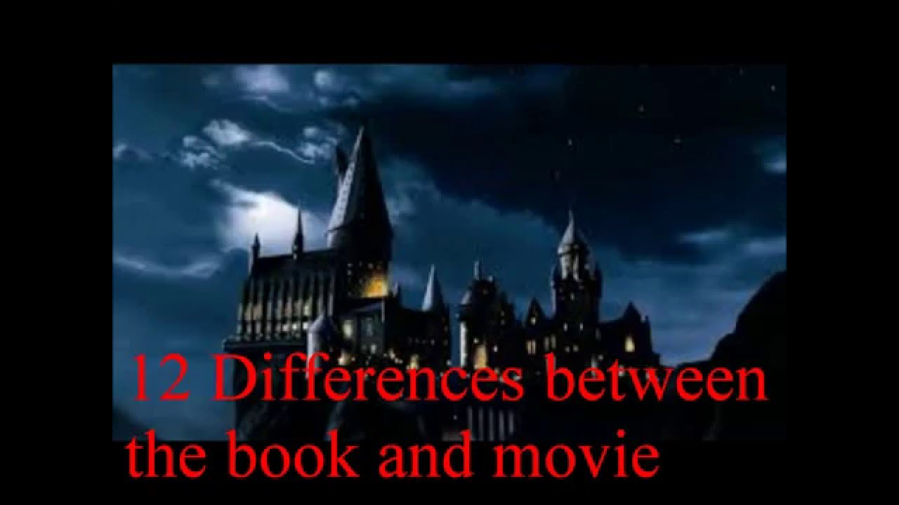 Harry Potter Book Movie Differences ~ Differences between movie and book characters harrypotter