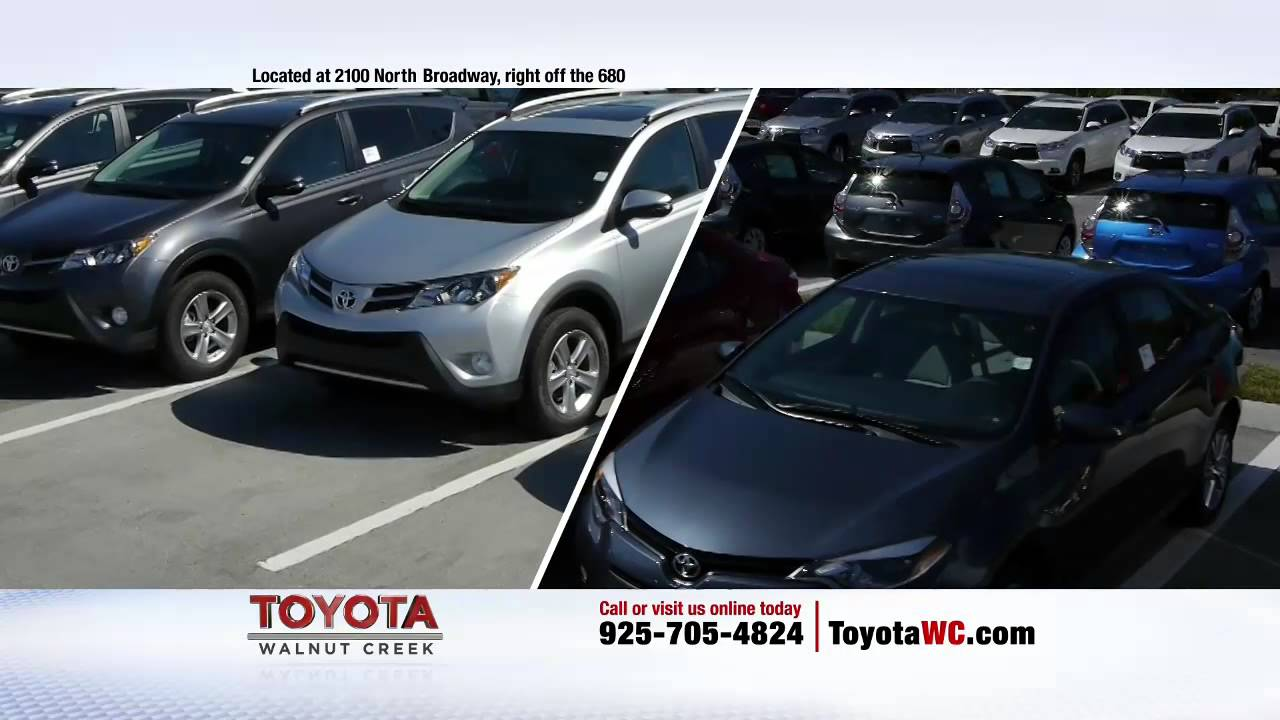 $99 A Month Clearance Payments At Toyota Walnut Creek Right Now!