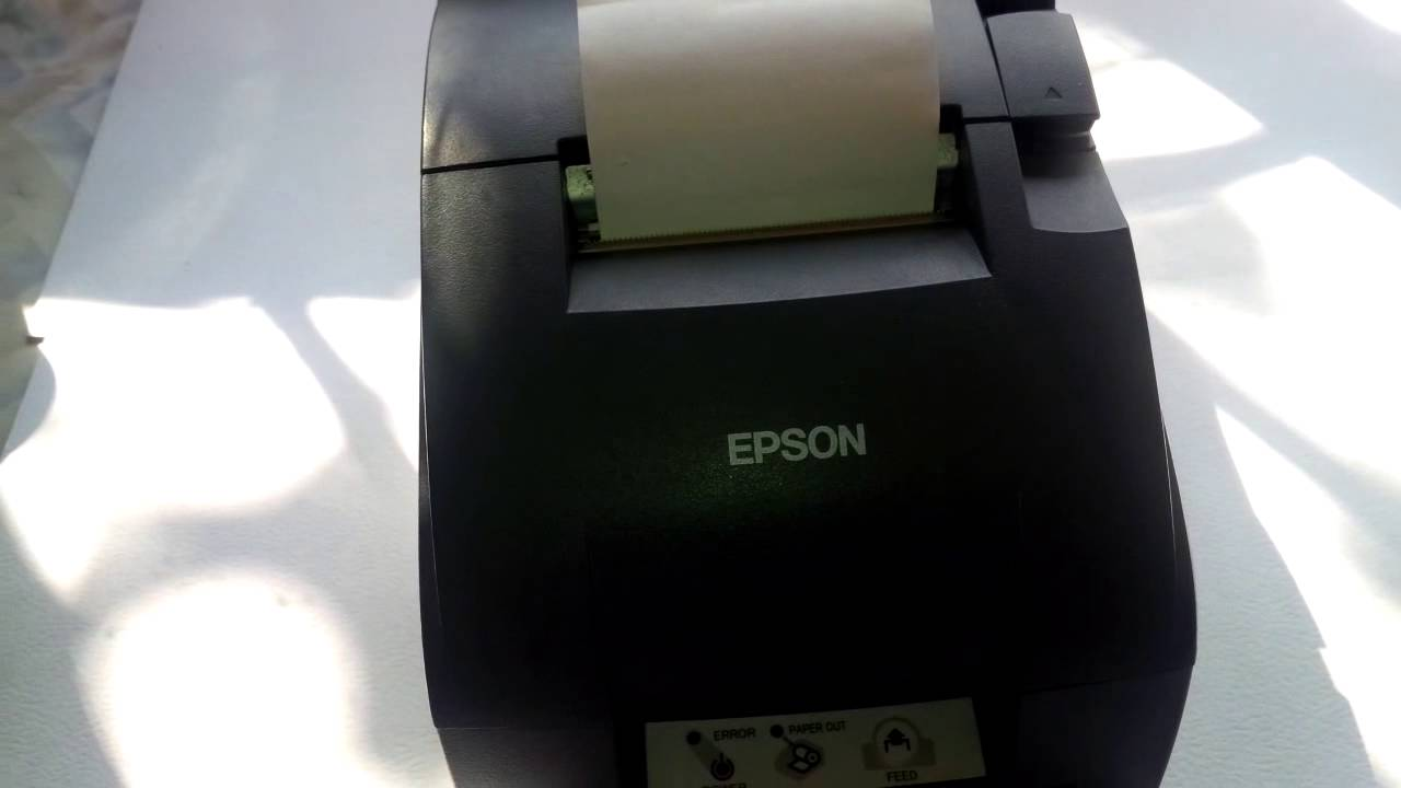 Promo Print Head Epson Tmu220 Ori New Update 2018 Aloevera 75gr Jepang Mpln Impresora Tm U220d Revisin Youtube