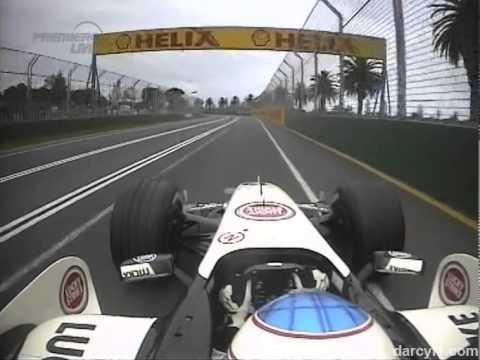 2006 Australian GP - Jenson Button Onboard