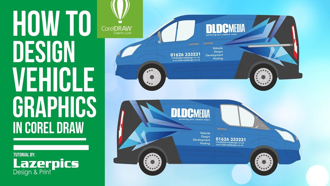 How To Design Vehicle Graphics Using Corel Draw Impact Library