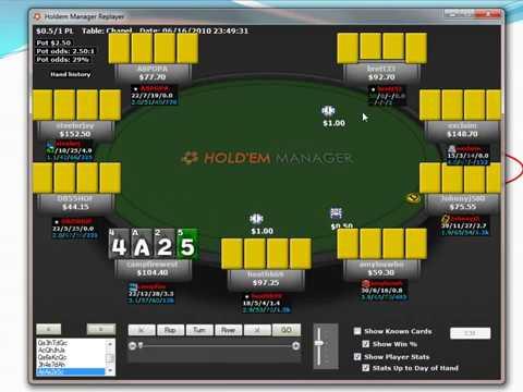 Poker campfirewest   Replayer PLO 8b Omaha 8b