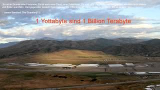 Die Festplatte - Utah Data Center (1 Billion Terabyte?)