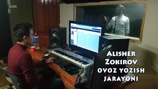 Alisher Zokirov Yangi Qo Shiq Ustida Ish Ovoz Yozish Jarayoni
