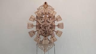 Конструктор Wood Trick Pendulum Clock - Настоящие часы