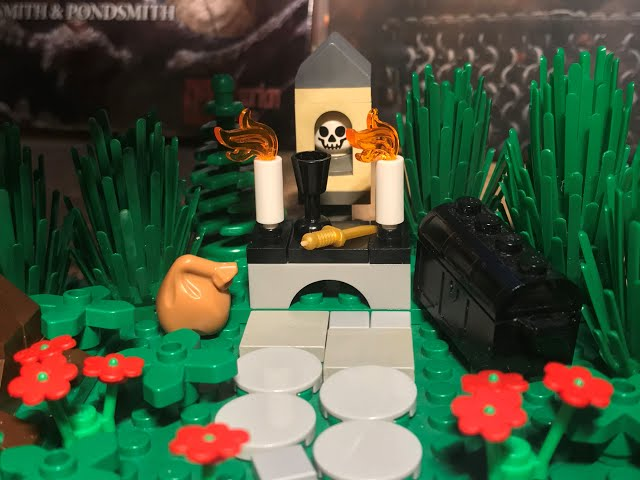 Bau-Idee für einen Mini-Schrein (und ein schneller Blick auf mein neues kleines Witcher-Diorama)