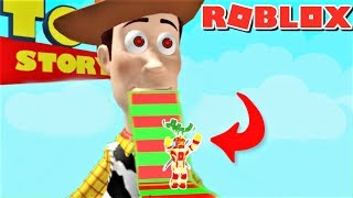 ESCAPE THE TOY STORY 4 OBBY IN  ROBLOX