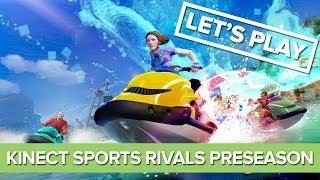 kINECT SPORTS RIVALS PRESEASON - XBOX ONE - GAMEPLAY TCHEGAMER