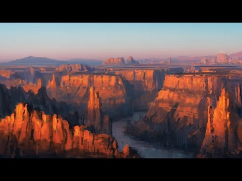 The Techniques of Dylan Cole 1 Introduction to Landscape Matte Painting