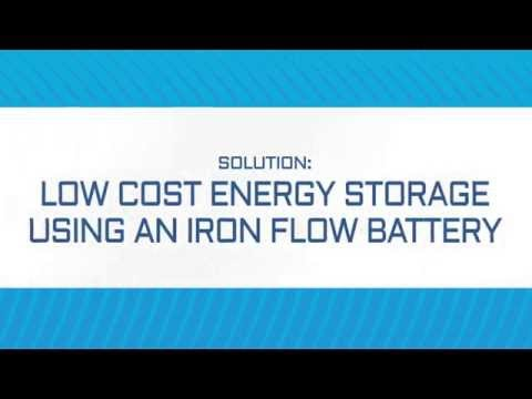 Low Cost Energy Storage Using an Iron Flow Battery by ESS, Inc.