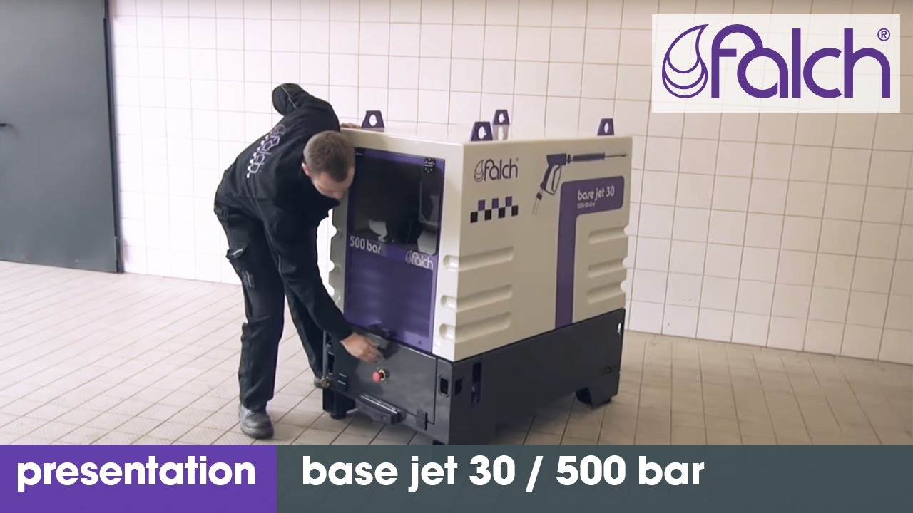 falch base jet 30 / 500 bar - product presentation - www.falch.com