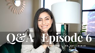 Q&A Episode 6| Relationships (Long Distance) in Residency