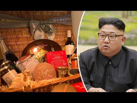 North Korean official BIZARRELY orders luxury UK Christmas hamper to Pyongyang