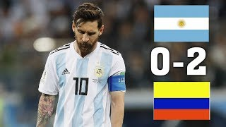 Аргентина - Колумбия 0-2 обзор матча 2019 HD
