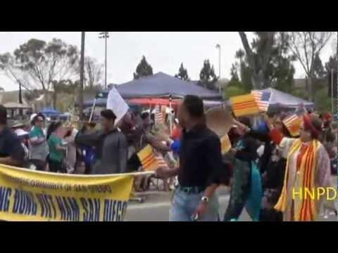 Mira Mesa, San Diego July 4th 2012 Parade - Cộng đồng Việt Nam San Diego