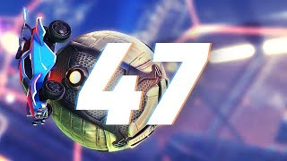 ROCKET LEAGUE INSANITY 47 ! (BEST GOALS, IMPOSSIBLE WAVE DASHES, FLICKS & ANGLES)
