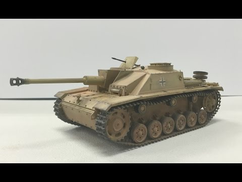 Building a Tamiya 1/35 Sturmgeschutz III start to finish
