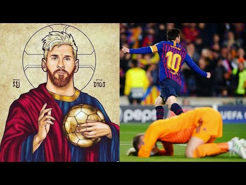 This is why Messi is the God of football